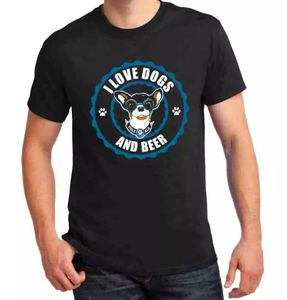 Motley Zoo -  I Love Dogs and Beer T-Shirt